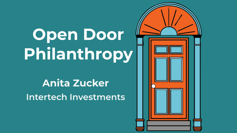 Anita Zucker appears on The Open Door Philanthropy Podcast