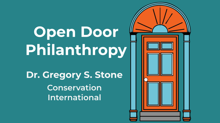 Dr Gregory S. Stone appears on Open Door Philanthropy Podcast