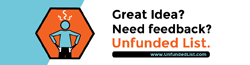 Unfunded List: Great social change ideas deserve feedback!