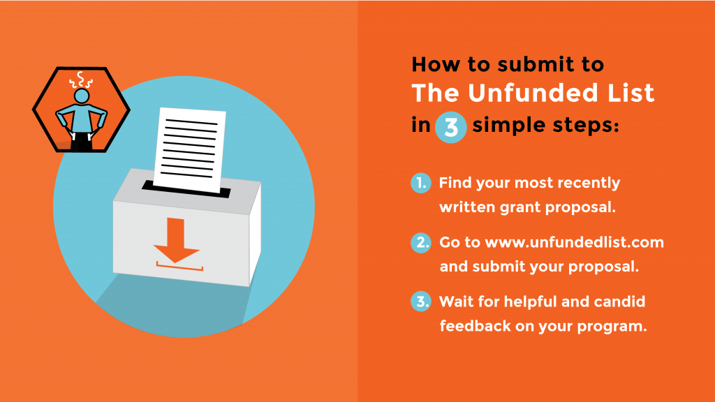 How To Submit To Unfunded List