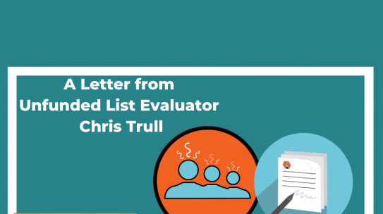 A Letter from an Evaluator