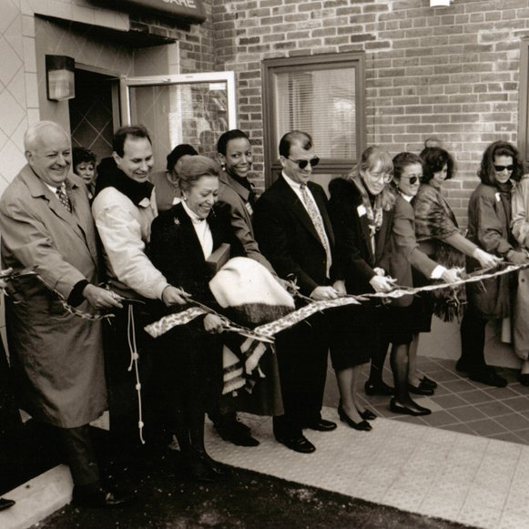 Mary's Center grand opening of their Ontario Road building in 1993.