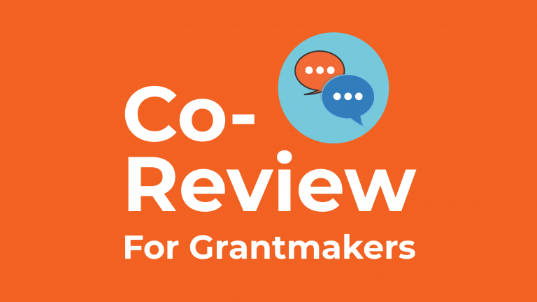 Grantmakers Guide to Co-Reviewing with Unfunded List