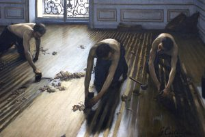 The Floor Scrapers (Les Raboteurs de parquet) by Gustave Caillebotte as a demonstration of the value of co-review.