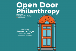 Open Door Philanthropy Podcast with guest Amanda Cage